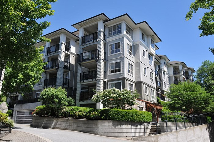 "Main Photo: 308 2968 SILVER SPRINGS Boulevard in Coquitlam: Westwood Plateau Condo for sale in ""TAMARISK"" : MLS®# R2174996"