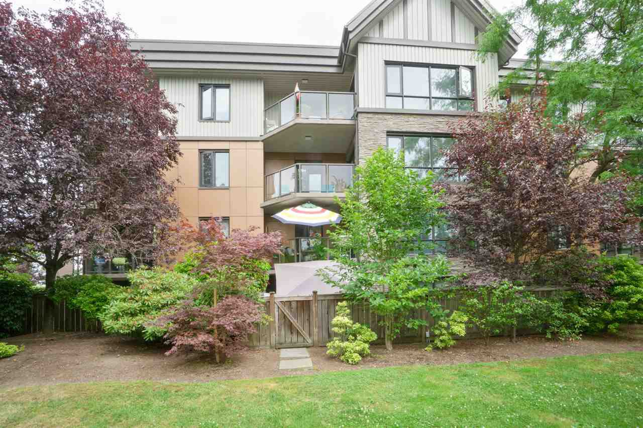 "Main Photo: 205 9970 148 Street in Surrey: Guildford Condo for sale in ""HIGHPOINT GARDENS"" (North Surrey)  : MLS®# R2186742"