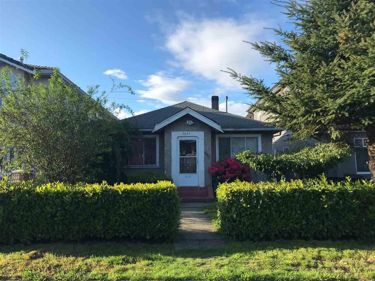 "Main Photo: 2841 E 14TH Avenue in Vancouver: Renfrew Heights House for sale in ""RENFREW HEIGHTS"" (Vancouver East)  : MLS®# R2278987"
