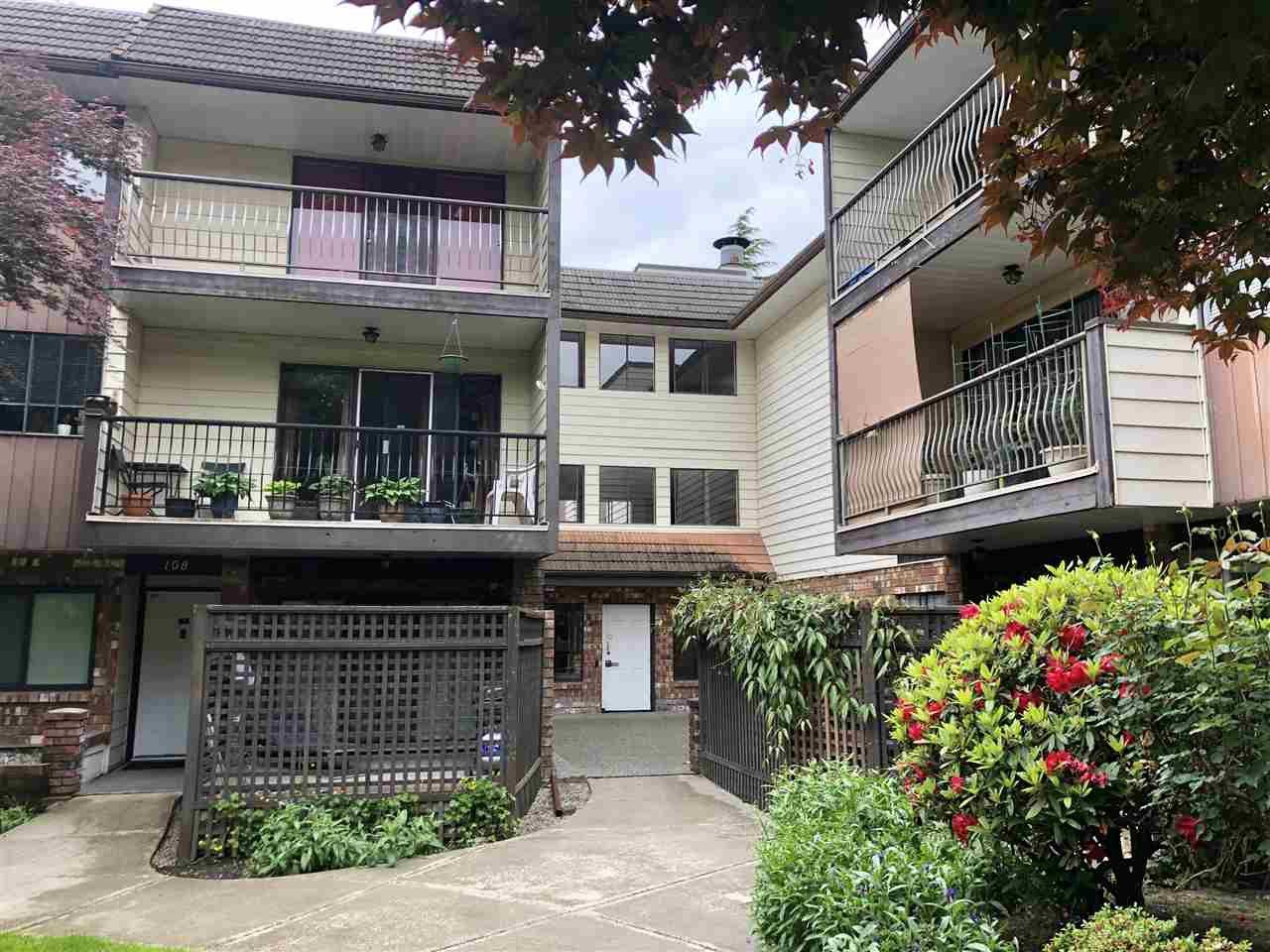 "Main Photo: 308 7426 138 Street in Surrey: East Newton Condo for sale in ""Glencoe Estates"" : MLS®# R2373047"