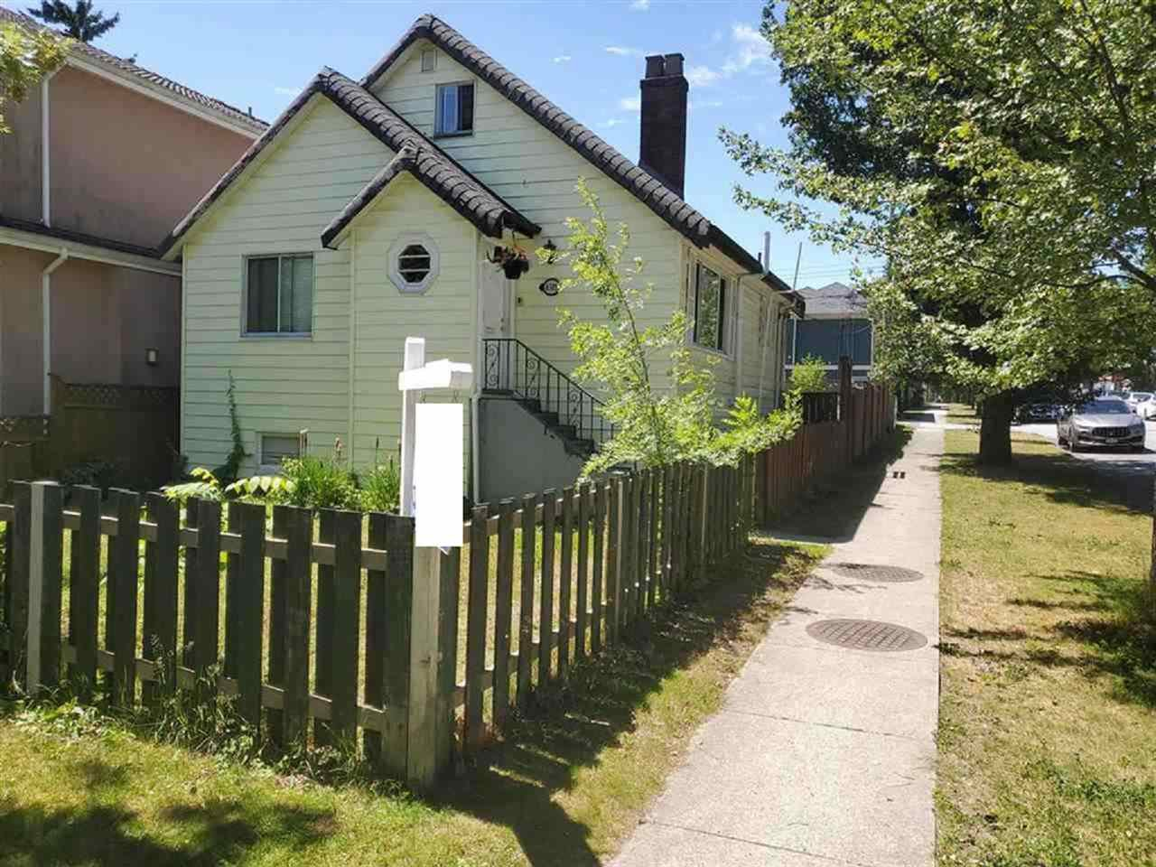 Main Photo: 6305 ST. CATHERINES Street in Vancouver: Fraser VE House for sale (Vancouver East)  : MLS®# R2381246