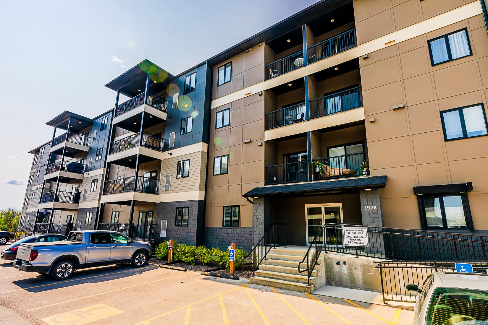 Main Photo: 210 1926 St. Mary's Road in Winnipeg: River Park South Condominium for rent (St. Vital)