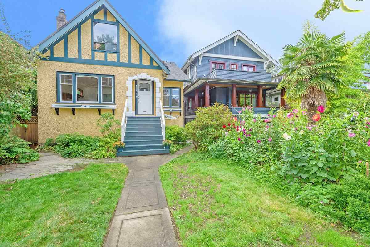 Main Photo: 3116 W 3RD AVENUE in Vancouver: Kitsilano House for sale (Vancouver West)  : MLS®# R2398955