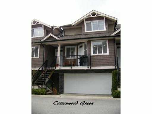 "Main Photo: 27 11720 COTTONWOOD Drive in Maple Ridge: Cottonwood MR Townhouse for sale in ""COTTONWOOD GREEN"" : MLS®# V882022"