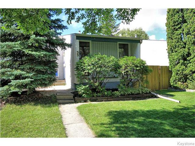 Main Photo: 33 Drake Boulevard in WINNIPEG: Windsor Park / Southdale / Island Lakes Residential for sale (South East Winnipeg)  : MLS®# 1524977