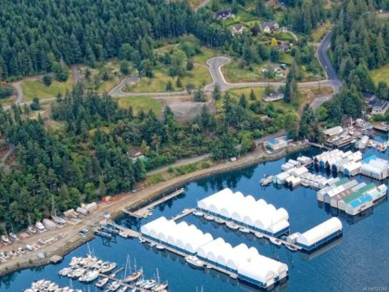Maple Bay Marina & Harbour Air Across the street