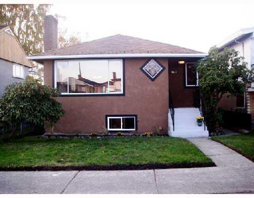 Main Photo: 6615 KNIGHT STREET in : South Vancouver House for sale : MLS®# V781529