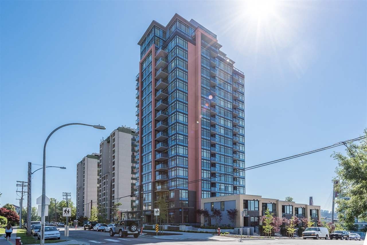 "Main Photo: 1402 188 AGNES Street in New Westminster: Queens Park Condo for sale in ""THE ELLIOTT"" : MLS®# R2181774"