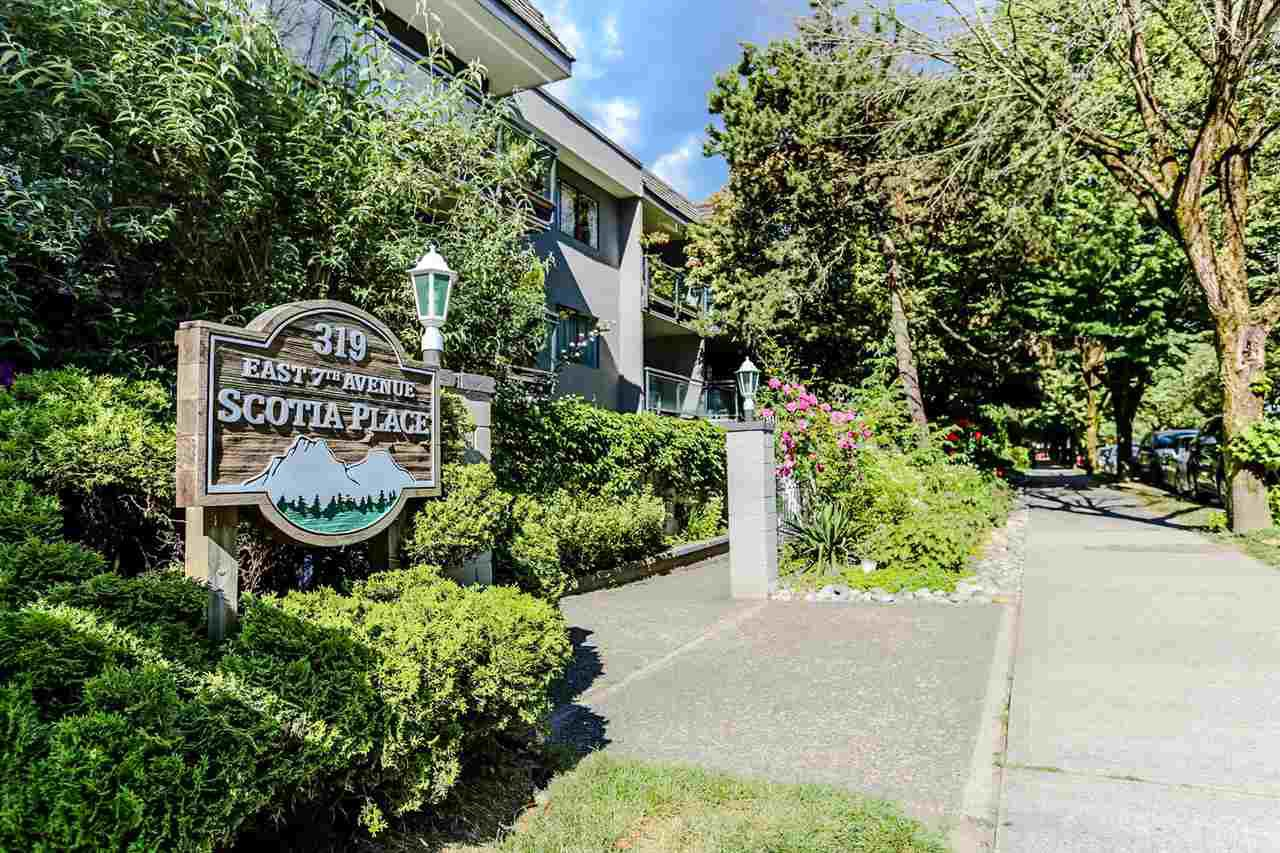 "Main Photo: 111 319 E 7TH Avenue in Vancouver: Mount Pleasant VE Condo for sale in ""SCOTIA PLACE"" (Vancouver East)  : MLS®# R2282401"