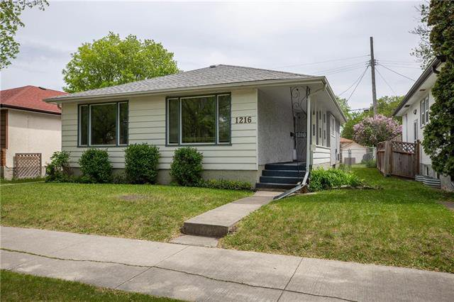 Main Photo: 1216 Mulvey Avenue in Winnipeg: Residential for sale (1Bw)  : MLS®# 1913582