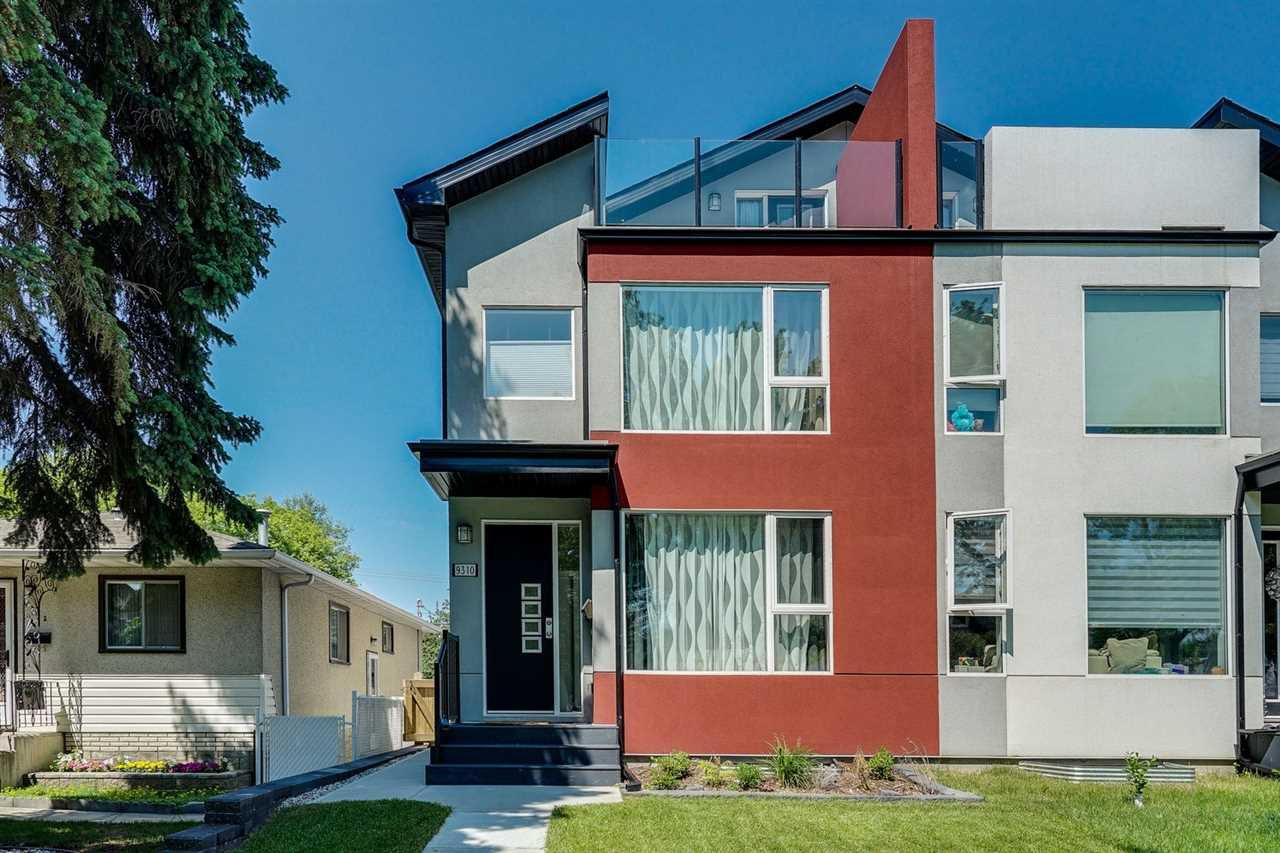 Main Photo: 9310 74 Avenue in Edmonton: Zone 17 House Half Duplex for sale : MLS®# E4163311