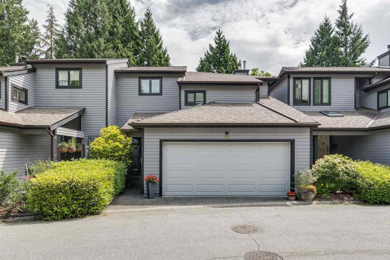 "Main Photo: 1993 CEDAR VILLAGE Crescent in North Vancouver: Westlynn Townhouse for sale in ""The Bayberry"" : MLS®# R2460567"