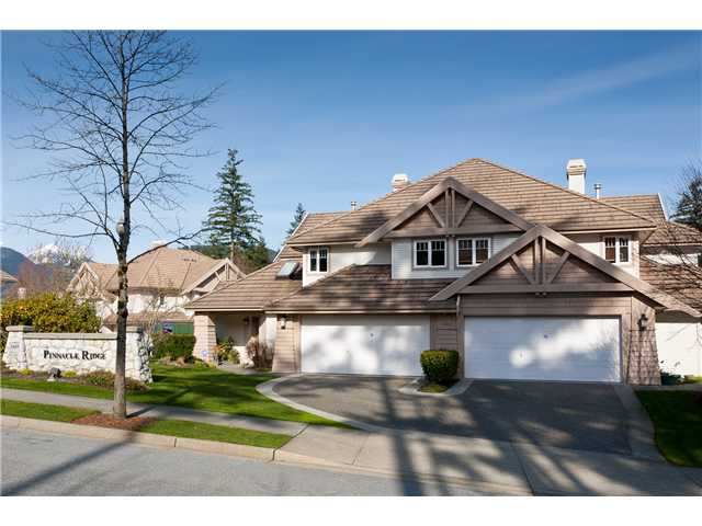 "Main Photo: 6 3405 PLATEAU Boulevard in Coquitlam: Westwood Plateau Townhouse for sale in ""PINNACLE RIDGE"" : MLS®# V883094"