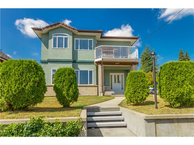 Main Photo: 127 RICHMOND ST in New Westminster: The Heights NW House for sale : MLS®# V1023130