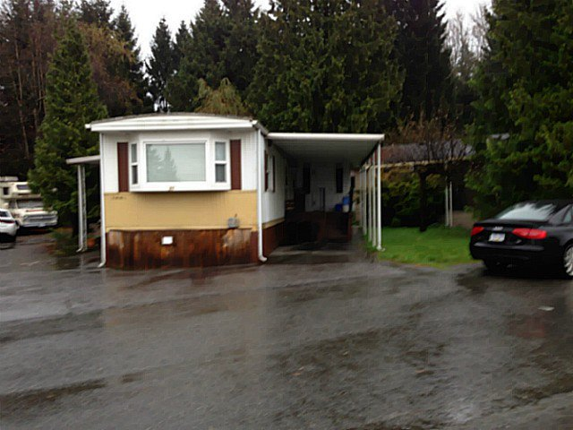"Main Photo: 21 201 CAYER Street in Coquitlam: Maillardville Manufactured Home for sale in ""WILDWOOD PARK"" : MLS®# V1095259"