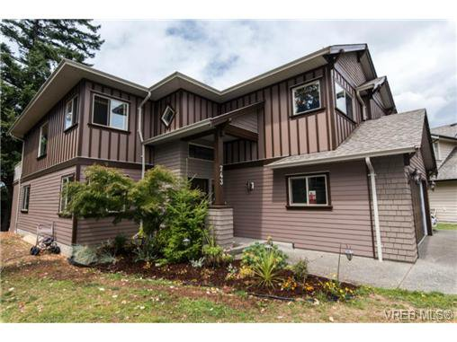 Main Photo: 743 Claudette Crt in VICTORIA: Co Triangle House for sale (Colwood)  : MLS®# 737481