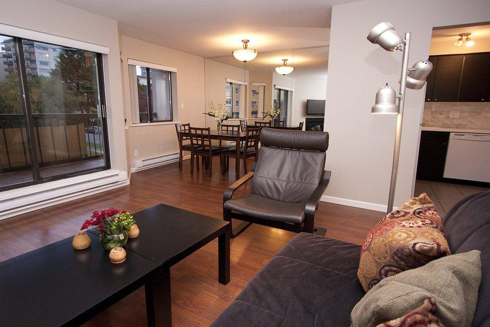 Living Room Looking onto Deck