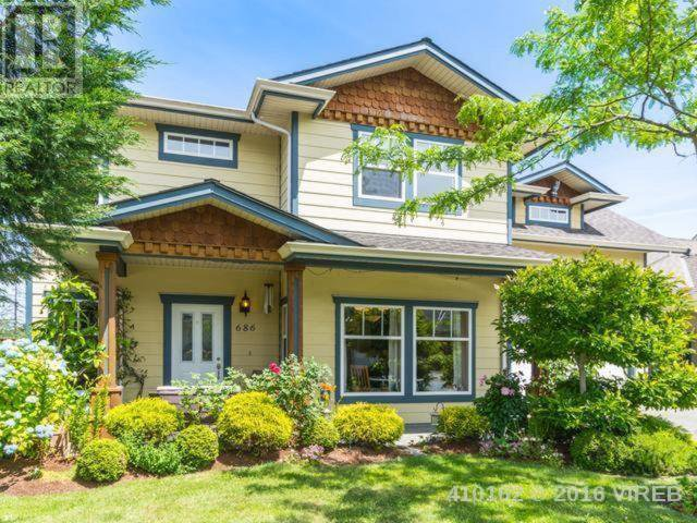 Main Photo: 686 Sarum Rise Way in Nanaimo: House for sale : MLS®# 410162