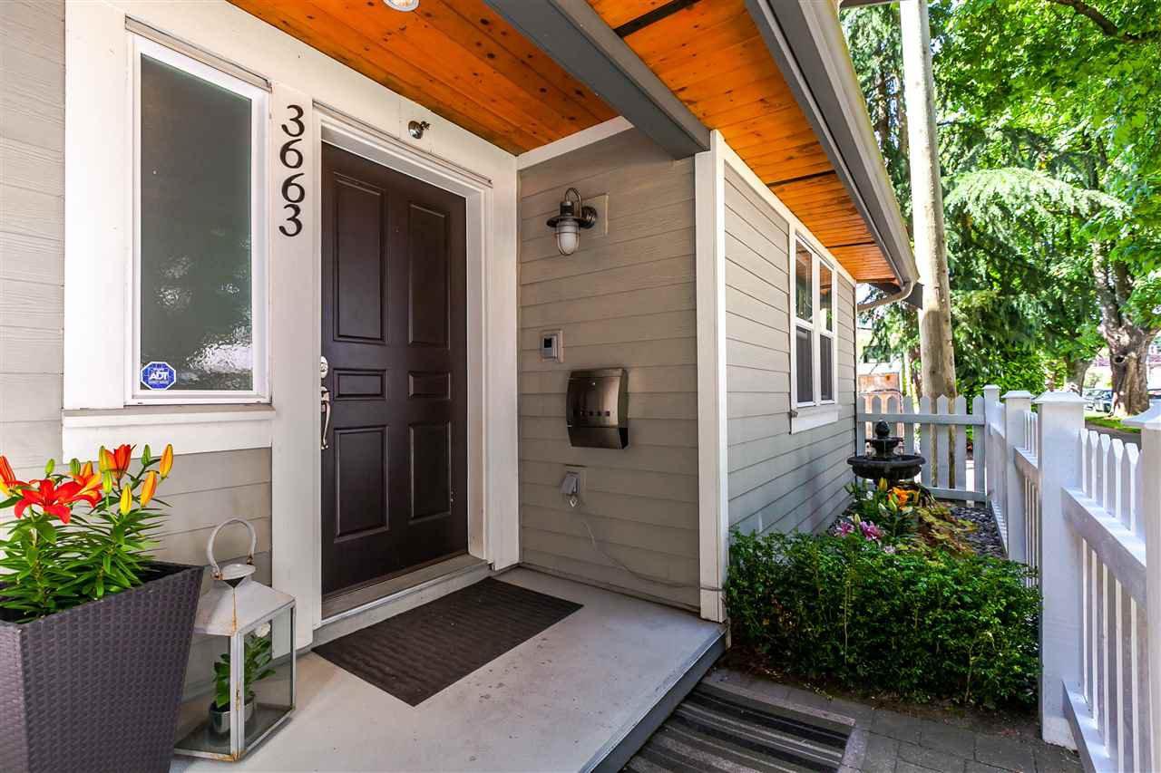 "Main Photo: 3663 GLEN Drive in Vancouver: Fraser VE Townhouse for sale in ""KENSINGTON/CEDAR COTTAGE"" (Vancouver East)  : MLS®# R2241726"