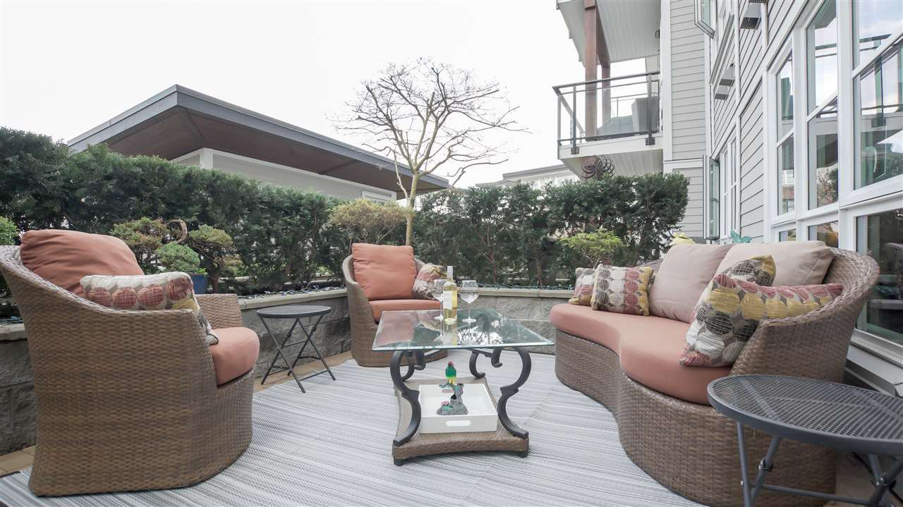 """Main Photo: 218 23215 BILLY BROWN Road in Langley: Fort Langley Condo for sale in """"WATERFRONT AT BEDFORD LANDING"""" : MLS®# R2252138"""