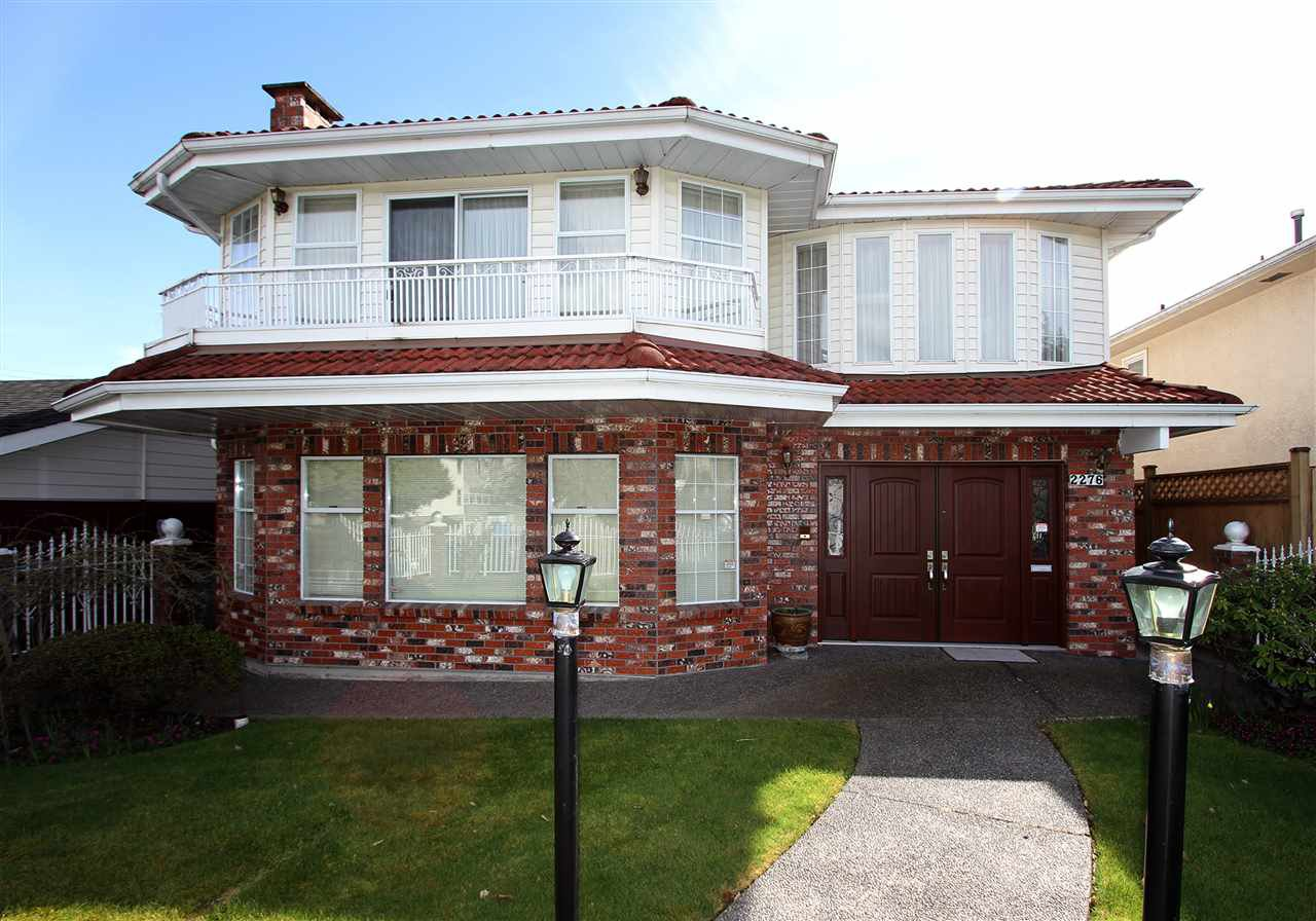 Main Photo: 2276 E 61ST Avenue in Vancouver: Fraserview VE House for sale (Vancouver East)  : MLS®# R2255899