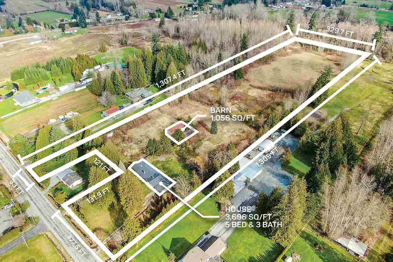 Main Photo: 4270 240 Street in Langley: Salmon River House for sale : MLS®# R2434828