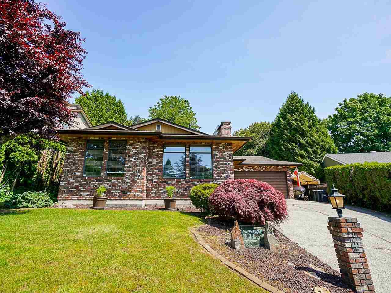 """Main Photo: 4 BENSON Drive in Port Moody: North Shore Pt Moody House for sale in """"PLEASANTSIDE"""" : MLS®# R2459111"""