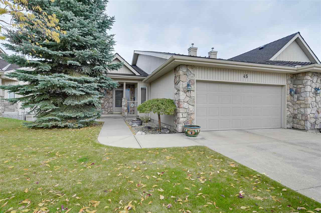 Main Photo: 45 929 PICARD Drive in Edmonton: Zone 58 House Half Duplex for sale : MLS®# E4218118