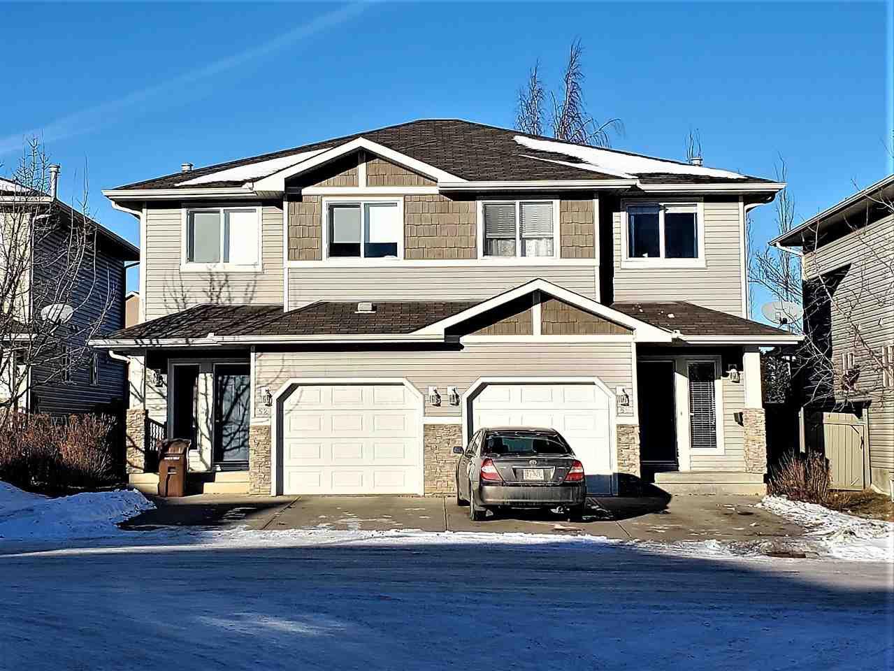 Main Photo: 3 133 EASTGATE Way: St. Albert House Half Duplex for sale : MLS®# E4223741