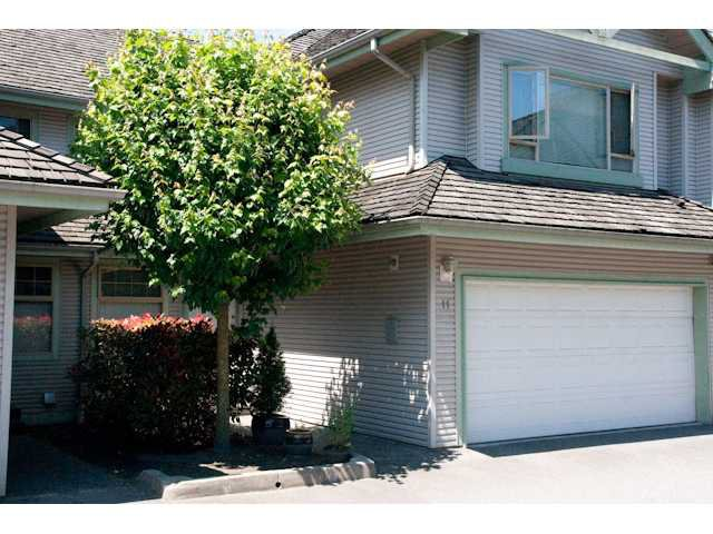"Main Photo: 11 1255 RIVERSIDE Drive in Port Coquitlam: Riverwood Townhouse for sale in ""RIVERWOOD GREEN"" : MLS®# V896489"
