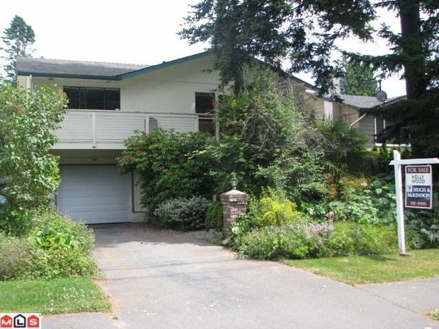 Main Photo: 1440 128TH Street in Surrey: Crescent Bch Ocean Pk. House for sale (South Surrey White Rock)  : MLS®# F1117311