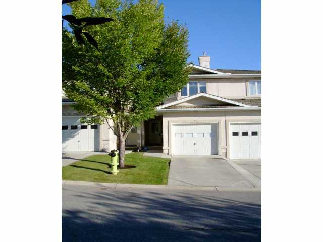 Main Photo: 17 EDGERIDGE Terrace NW in CALGARY: Edgemont Townhouse for sale (Calgary)  : MLS®# C3489209