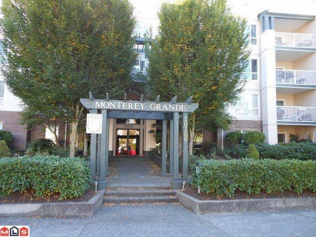 "Main Photo: 404 20200 54A Avenue in Langley: Langley City Condo for sale in ""MONTEREY GRANDE"" : MLS®# F1225359"
