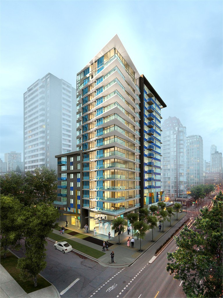 Main Photo: 810 1009 Harwood Street in Vancouver: West End VW Condo for sale (Vancouver West)