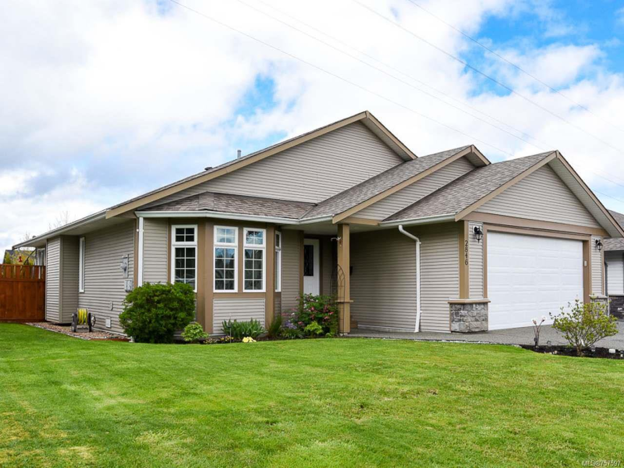 Main Photo: 2846 BRYDEN PLACE in COURTENAY: CV Courtenay East House for sale (Comox Valley)  : MLS®# 757597
