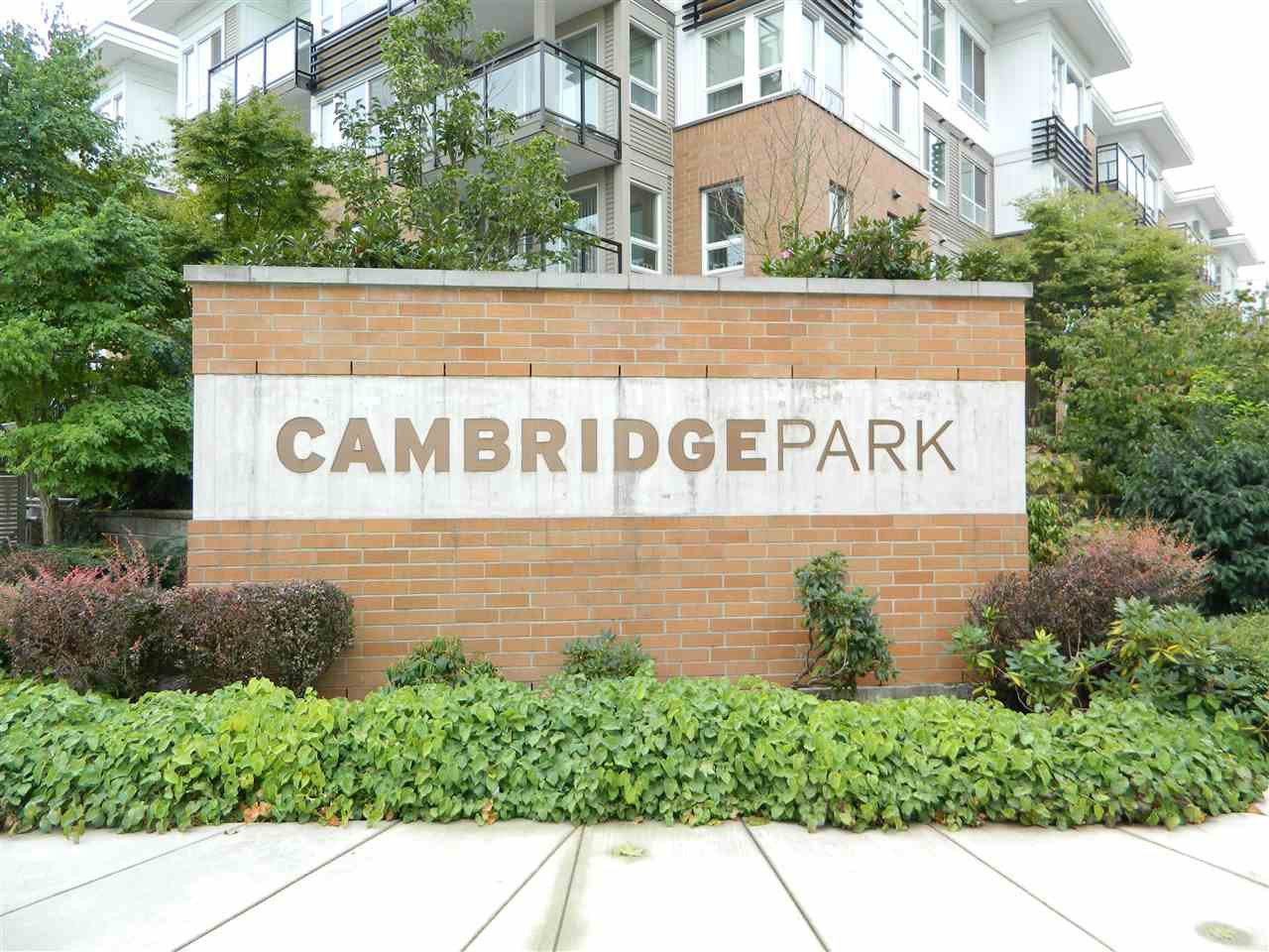 Main Photo: 406 9500 ODLIN ROAD in Richmond: West Cambie Condo for sale : MLS®# R2204738