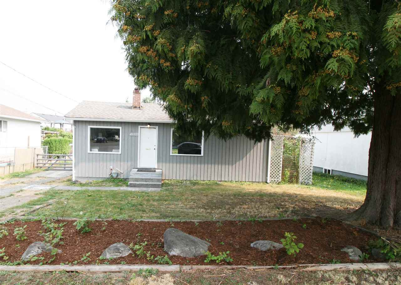 Main Photo: 45573 WELLINGTON Avenue in Chilliwack: Chilliwack W Young-Well House for sale : MLS®# R2305361