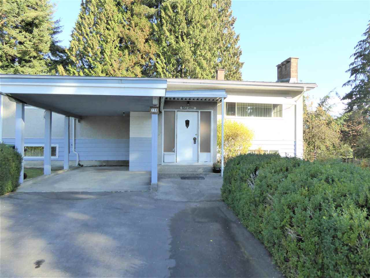 Main Photo: 723 LOMOND Street in Coquitlam: Central Coquitlam House for sale : MLS®# R2317097