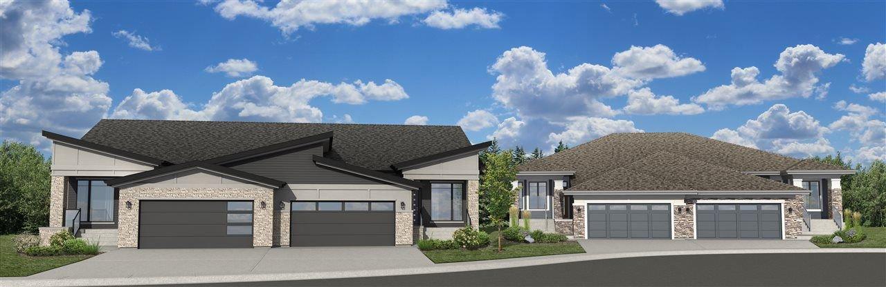 Main Photo: 104 Rybury Court: Sherwood Park House Half Duplex for sale : MLS®# E4143546