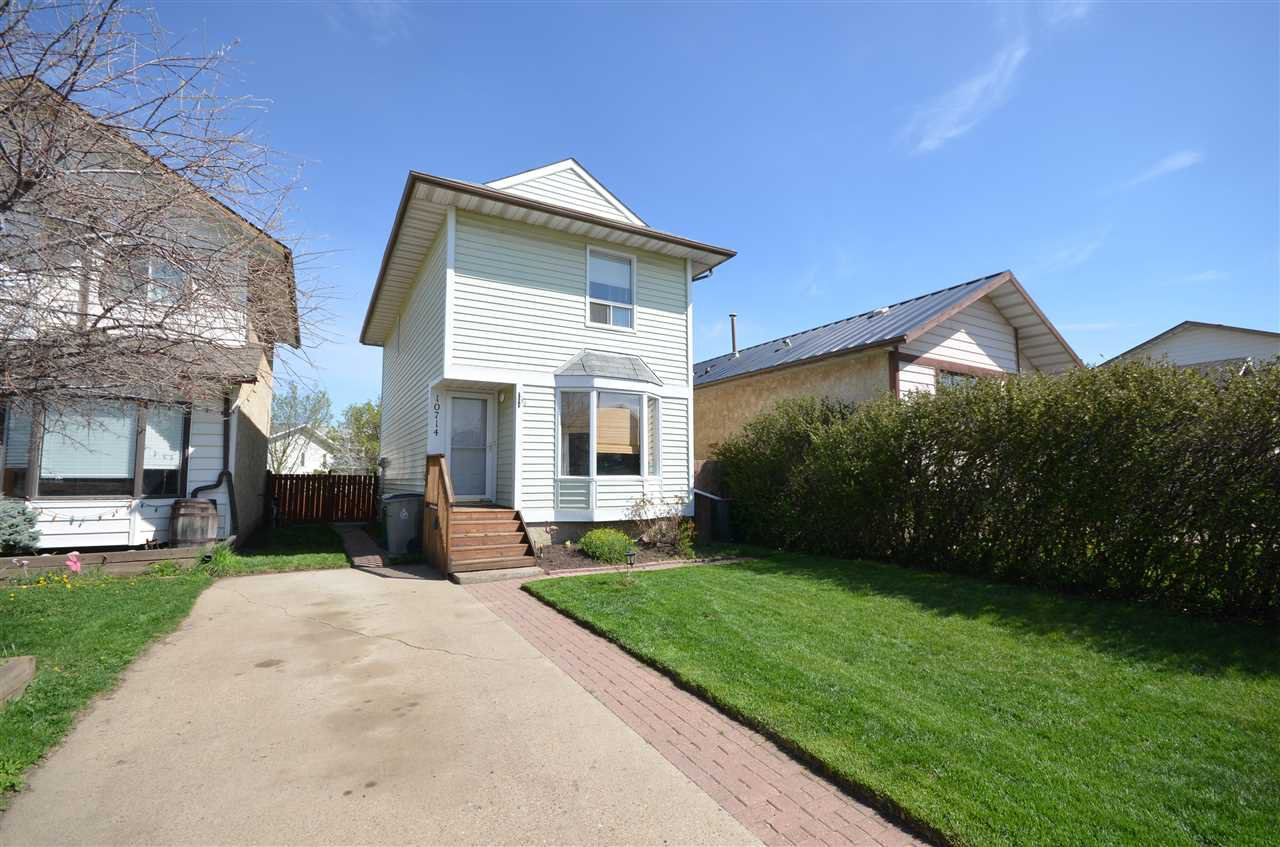 10714 98 Ave Morinville 3 Bed 1.5 Bath Family Home For Sale E4157212