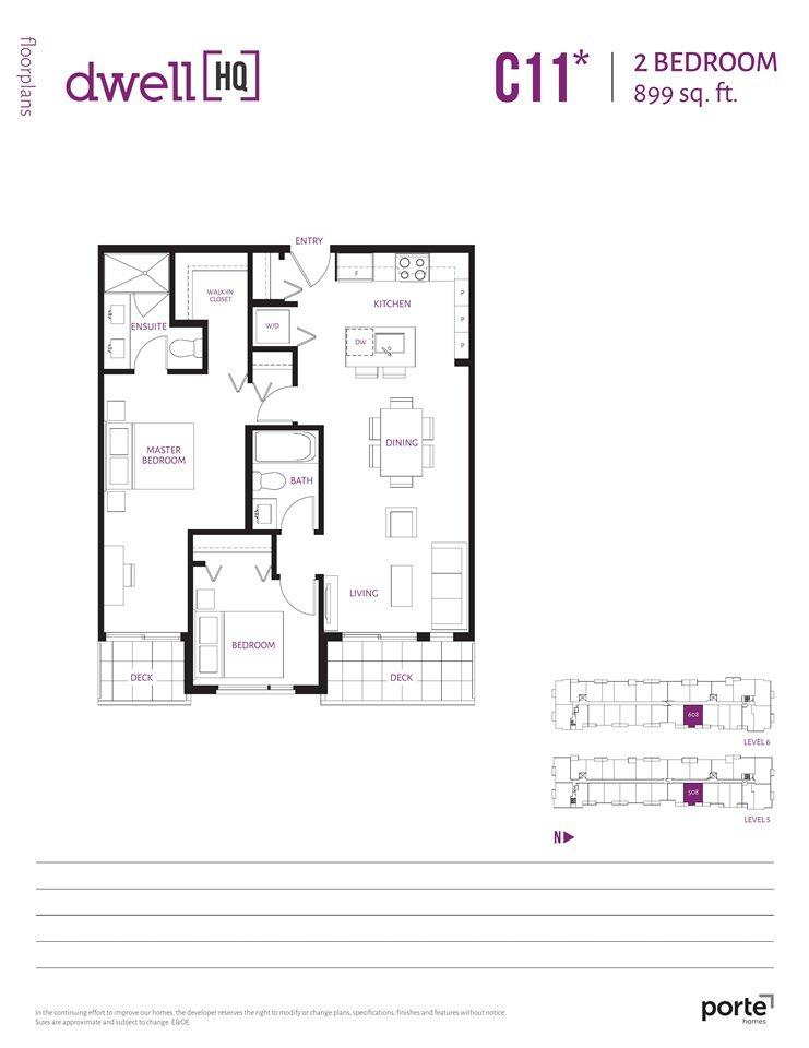 Photo 6: Photos: 608 13963 105A Avenue in Surrey: Whalley Condo for sale (North Surrey)  : MLS®# R2374907
