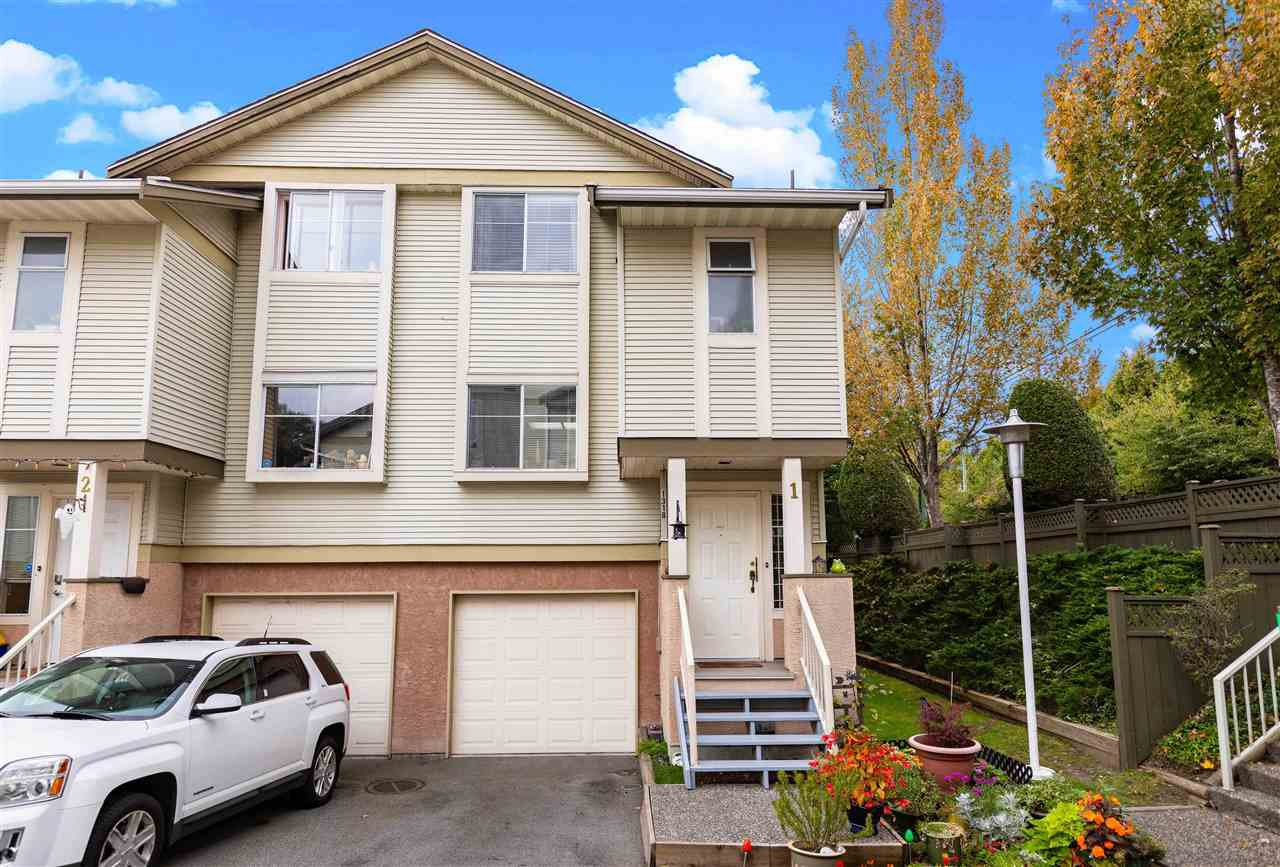 Main Photo: 1 1318 BRUNETTE Avenue in Coquitlam: Maillardville Townhouse for sale : MLS®# R2507977