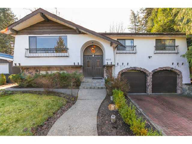 Main Photo: 4853 COLBROOK Court in Burnaby: Deer Lake Place House for sale (Burnaby South)  : MLS®# V1116403