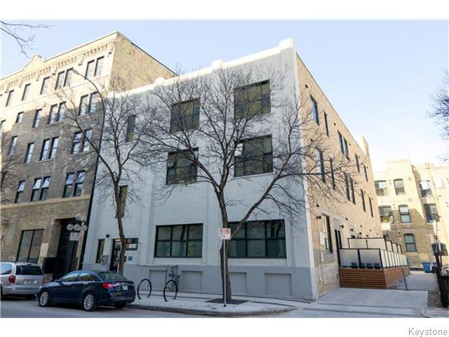 Main Photo: 133 Market Avenue in Winnipeg: Central Winnipeg Condominium for sale : MLS®# 1609413
