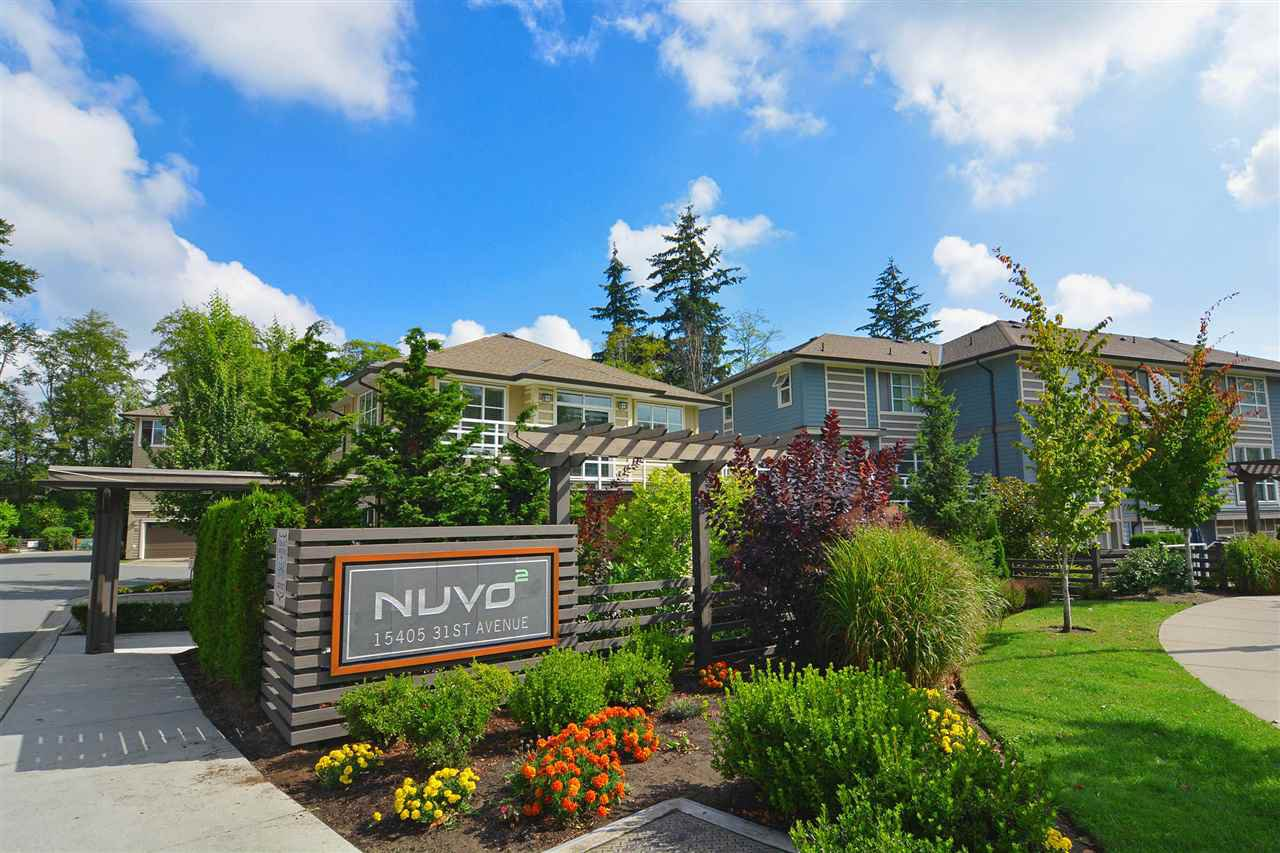 "Main Photo: 46 15405 31 Avenue in Surrey: Grandview Surrey Townhouse for sale in ""Nuvo II"" (South Surrey White Rock)  : MLS®# R2097139"