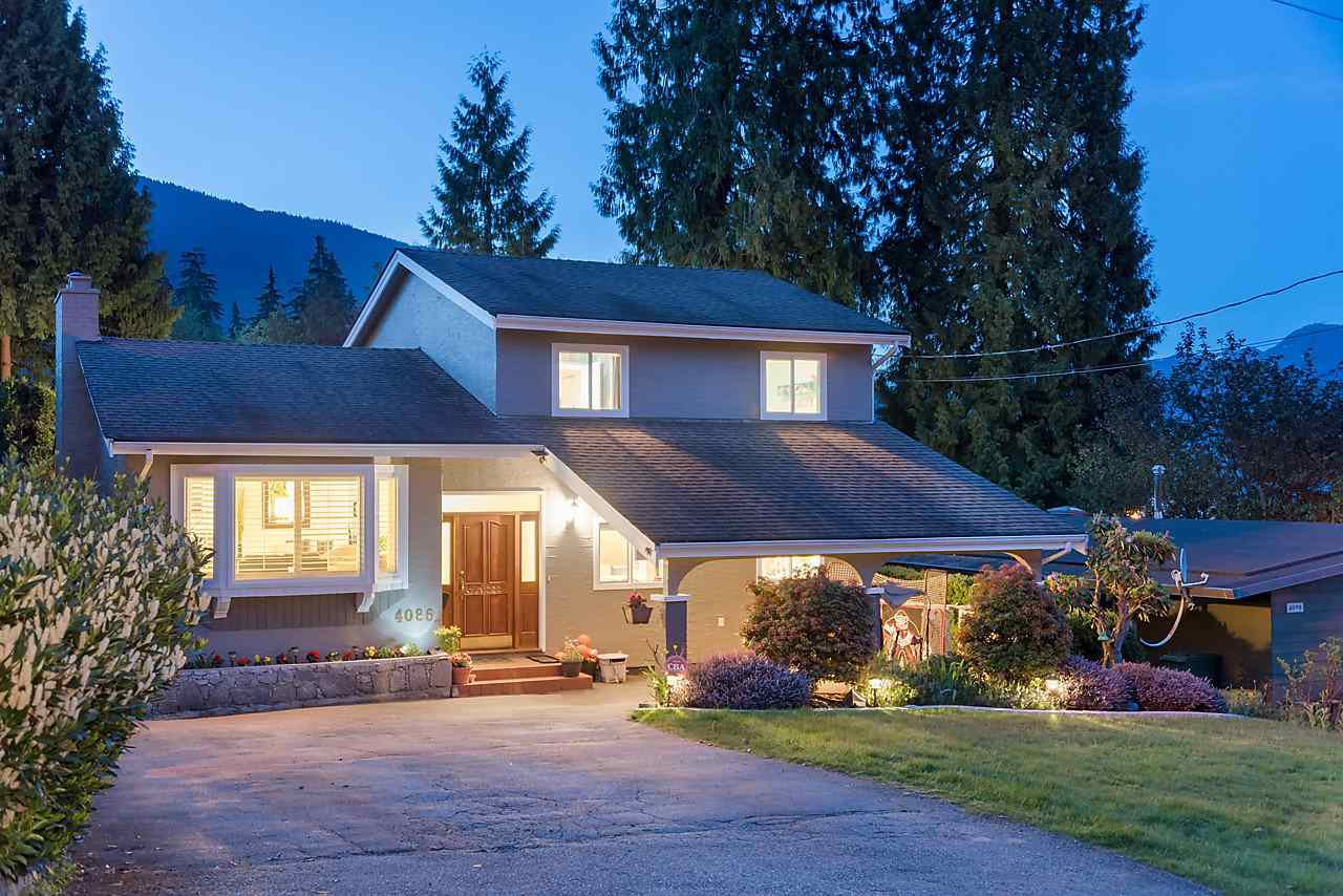 """Main Photo: 4086 BROCKTON Crescent in North Vancouver: Indian River House for sale in """"INDIAN RIVER"""" : MLS®# R2169413"""