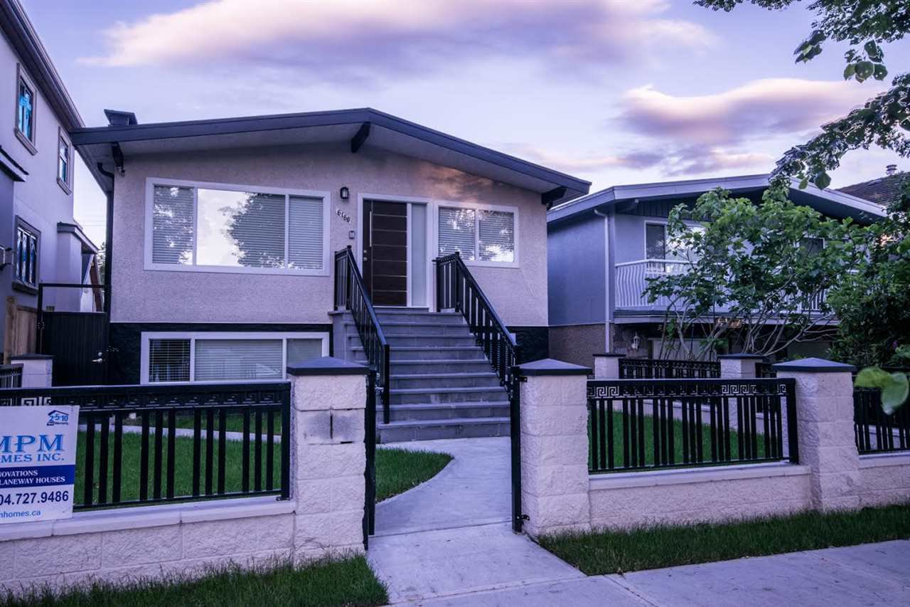 Main Photo: 6160 ST. CATHERINES Street in Vancouver: Fraser VE House for sale (Vancouver East)  : MLS®# R2181473