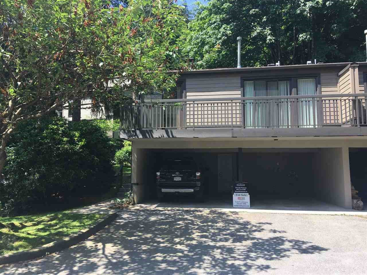 """Main Photo: 1179 HERITAGE Boulevard in North Vancouver: Seymour NV Townhouse for sale in """"Heritage in the Woods"""" : MLS®# R2182409"""