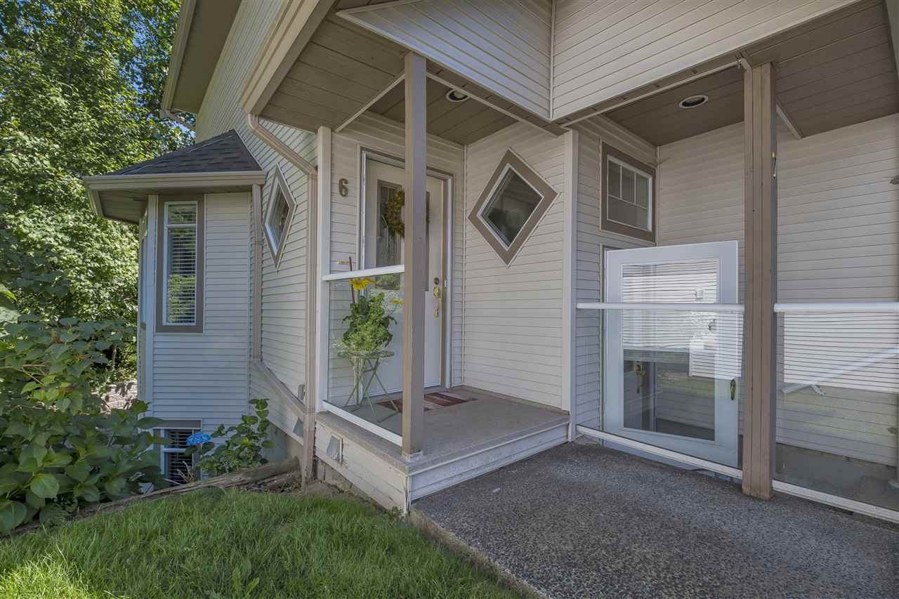 Main Photo: 6 32311 MCRAE AVENUE in Mission: Mission BC Townhouse for sale : MLS®# R2185871