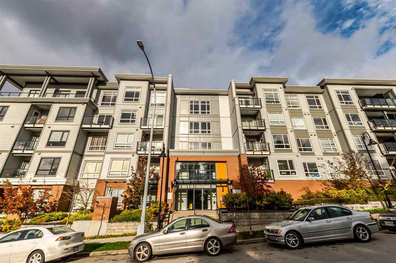 "Main Photo: 331 13733 107A Avenue in Surrey: Whalley Condo for sale in ""Quattro"" (North Surrey)  : MLS®# R2222797"